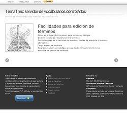 TemaTres: software libre para gestión de tesauros
