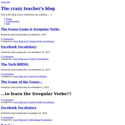 Vocabulary « The crazy teacher's blog