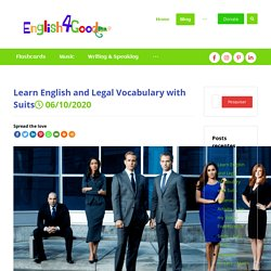 Learn English and Legal Vocabulary with Suits - English4Good
