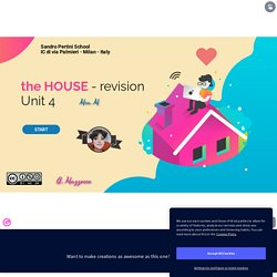 The House - vocabulary - primary / secondary schools by Annie Mazzocco on Genially