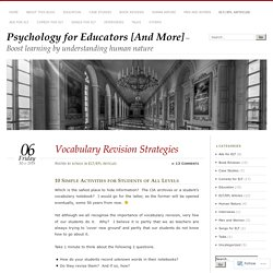 Psychology for Educators [And More]