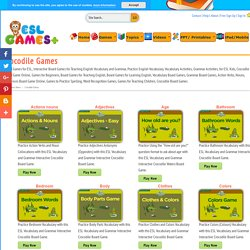 Board Games for ESL Vocabulary, Grammar, Teaching, Practice, Learning