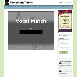 Vocal Match | Theta Music Trainer