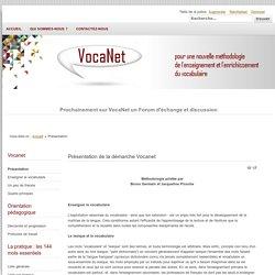 Vocanet - Présentation