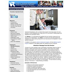 Florida Division of Vocational Rehabilitation
