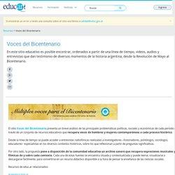Voces del Bicentenario - Educ.ar