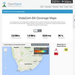 VodaCom-SA coverage maps