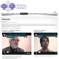 Robots and Avatars