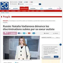 Russie: Natalia Vodianova dénonce les discriminations subies par sa soeur autiste