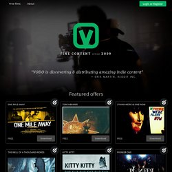 VODO - free-to-share films available through bittorrent