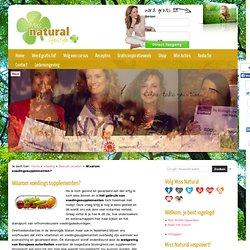 Waarom voedingssupplementen? - Miss Natural Lifestyle