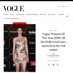 Inside Bollywood Candid Pictures From Vogue Women of the Year awards 2019 at VOGUE India