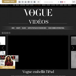 embellit l'iPad - Vogue