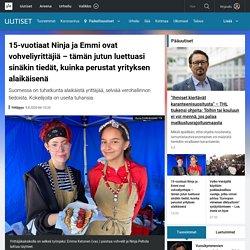 15-vuotiaat Ninja ja Emmi ovat vohveliyrittäjiä – tämän jutun luettuasi sinäkin tiedät, kuinka perustat yrityksen alaikäisenä