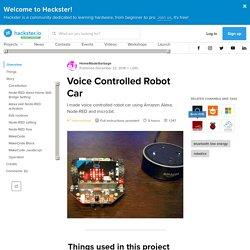 Voice Controlled Robot Car