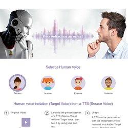 Voice conversion demo - CandyVoice