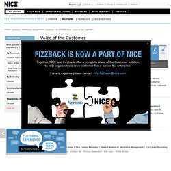 Fizzback - Customer Engagement