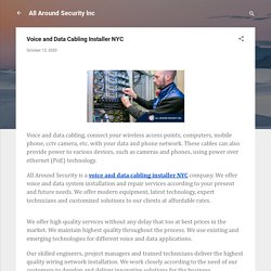 Voice and Data Cabling Installer NYC