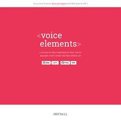 <voice-elements>