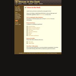 Voices in the Dark - Voices in the Dark - Free MP3 Audio Books