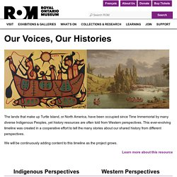 Our Voices, Our Histories