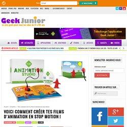Voici comment créer tes films d'animation en stop motion