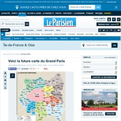 Voici la future carte du Grand Paris