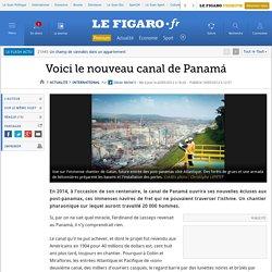 International : Voici le nouveau canal de Panamá