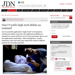 Voici 9 outils high-tech dédiés au sommeil