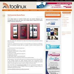 Voici le premier Ubuntu Phone