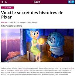 Voici le secret des histoires de Pixar