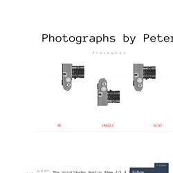 The Voigtländer Nokton 40mm f/1.4 [short review].
