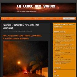La Levée Des Voiles » EN GUYANE LE GAZAGE DE LA POPULATION C'EST MAINTENANT