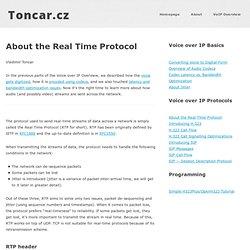VoIP Protocols: Real Time Protocol