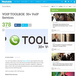 VOIP TOOLBOX: 30+ VoIP Services