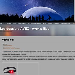 Les dossiers AVEX – Avex's files
