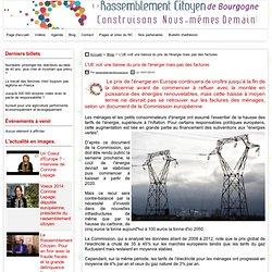 L'UE voit une baisse du prix de l'énergie mais pas des factures - ..
