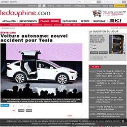 Voiture autonome: nouvel accident pour Tesla