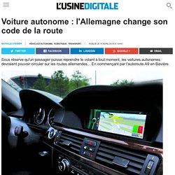 Voiture autonome : l'Allemagne change son code de la route