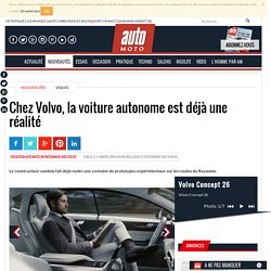 Voiture autonome : concept 26 XC90, une réalité chez Volvo