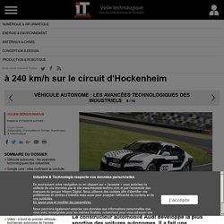 Voiture autonome : une Audi RS 7 roule sans pilote à 240 km/h sur le circuit d'Hockenheim