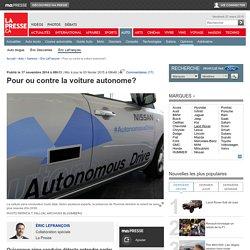 Pour ou contre la voiture autonome?