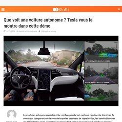 Que voit une voiture autonome ? Tesla vous le montre dans cette démo