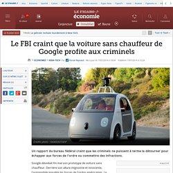 Le FBI craint que la voiture sans chauffeur de Google profite aux criminels