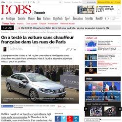 On a testé la voiture sans chauffeur française dans les rues de Paris