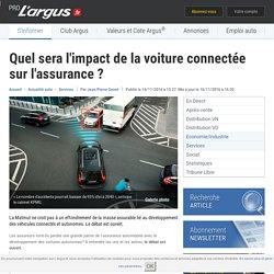 Quel sera l'impact de la voiture connectée sur l'assurance ? – L'argus PRO