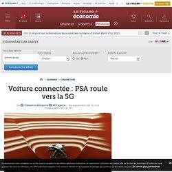 Voiture connectée : PSA roule vers la 5G