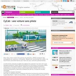 CyCab : une voiture sans pilote