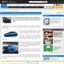 Mirai : la voiture à hydrogène de Toyota rencontre plus de succès que prévu