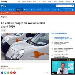 La voiture propre en Wallonie bien avant 2050